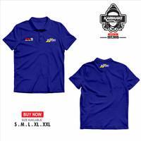 Polo Shirt Kaos Polo Motogp SUZUKI ECSTAR GSX RR Kaos Otomotif - KRMK