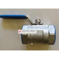 ANIX SS 304 1 PC BODY BALL VALVE SCREW CONNECTION UKURAN 1 (DN25)