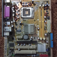 motherboard g31 asus + backpanel