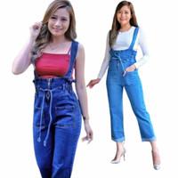 Celana Wanita Baju Kodok Celana Overall Baju Monyet Jeans
