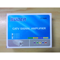 Penjernih TV Booster Antena + Splitter 4 way 40 db Rayden