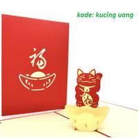 Kartu Ucapan SELAMAT BUKA TOKO/ USAHA/ PINDAH 3D Pop Up Greeting Card