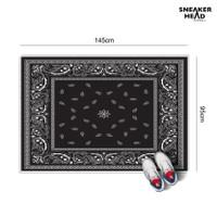 custom karpet besar motif BANDANA ukuran 145x95cm