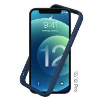 Case iPhone 12 Pro Max 12 Mini RHINOSHIELD CrashGuard NX Bumper Casing - Navy blue, 12 or 12 Pro
