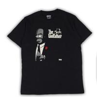Tshirt Kaos RDX - Homer Simpson The God Father (Premium Quality)