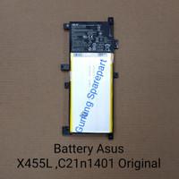 Baterai Laptop Asus A455 A455L X455L X455LA X455LD /C21N1401 Original