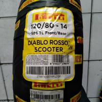 ban Aerox PCX ADV uk 120/80-14 Pirelli Diablo Rosso Scooter Tubeless