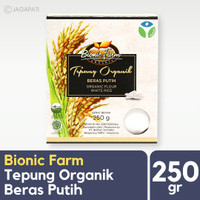 Bionic Farm - Tepung Beras Putih Organik 250gr - Bran Rice - Organik