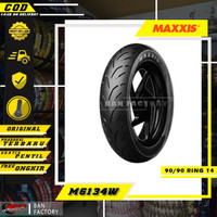 BAN MOTOR MAXXIS RING 14 MATIC TUBLES RING 14 EXTRAMAXX 90/90 RING 14