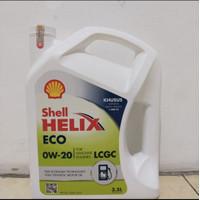 Oli Mesin Shell Helix ECO OW-20 100% asli kemasan galon isi 3.5liter
