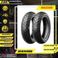 PAKET BAN MOTOR MAXXIS MATIC NOUVO MAXXIS DIAMOND 70/90 80/90 RING 16