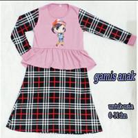 Baju Gamis Anak Perempuan Umur 5 - 11 Tahun / Gamis Muslim Anak