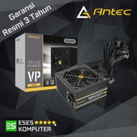 PSU Antec VP Series 500W - VP500 PLUS - 80 Plus White - Black Cables