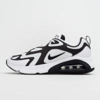 Sepatu Sneakers Nike Air Max 200 White Black AQ2568-104 Original 100%