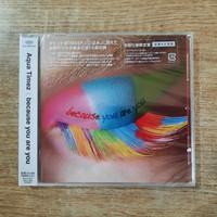 CD Aqua Timez Because You are You japan obi
