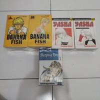 Komik Banana Fish 1-19tamat + Yasha 1-12tamat + Sleeping Eve 1-5tamat