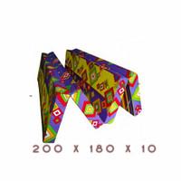 ROYAL FOAM D25 Kasur Lipat 4 no.1 tebal 20/15/10/5 - 200 X 180 X 5