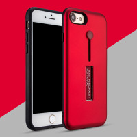 iPhone 7 7S 4.7 Silicone Ring Stand Luxury Soft Gel Capa Armor Case