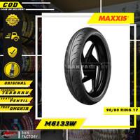 BAN MOTOR BEBEK RING 17 MAXXIS EXTRAMAXX 90/80 RING 17 BAN TUBLES