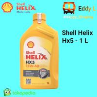 Oli Shell Helix Hx5 1 Liter - Original