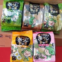 MATCHA PRINCE Rice Cracker/Roll biskuit beras impor TAIWAN 140 gr