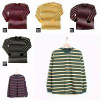 Kaos Stripe Three Line Long Series (RIB), Cotton Premium