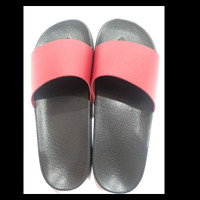 Sandal Wanita Slide / Slop Polos A28 Premium Quality (LIMITED EDITION) - Burgundy Red, 39