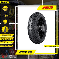 BAN MOTOR MATIC NEW SCOOPY FDR CITY GO 100/90 RING 12 BAN TUBLES MOTOR