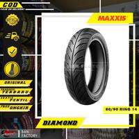 BAN MOTOR MAXXIS RING 14 MATIC BAN TUBLES MAXXIS DIAMOND 80/90 RING 14
