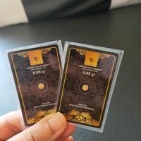 Minigold 0.05 Gram Emas mini Koin emas Logam mulia 24 karat