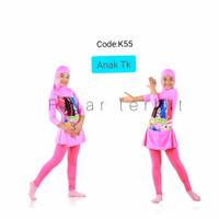 4-7 th baju renang anak muslim gambar baju renang perempuan muslim Tk