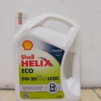 Oli Mesin Shell Helix ECO 0W-20 100% asli Galon isi 3.5Liter