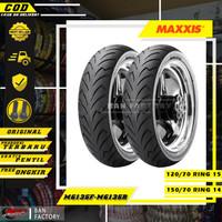 PAKET BAN MOTOR XMAX MAXXIS M6135 120/70 RING 15 150/70 RING 14 TUBLES