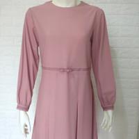 baju tunik wanita terbaru - fareena tunic warna pink
