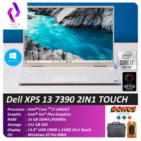 Dell XPS 13 7390 2IN1 TOUCH i7 1065G7 16GB 512ssd W10 13.4FHD