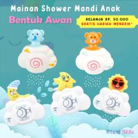 Mainan Mandi Anak Shower Awan Lucu / Mainan Mandi Bayi Shower Air Unik