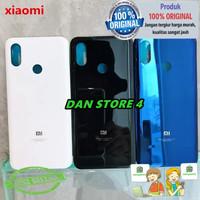 COD Cover Xiaomi Mi8 Mi 8 Backdoor Tutup Baterai Original 100% Kaca - Putih