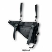 SEGITIGA Bike Frame Bag Shoulder Bag