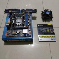 Paketan Intel i5 2500 + Asrock H61M-HVS + Corsair 2x4GB | 8GB