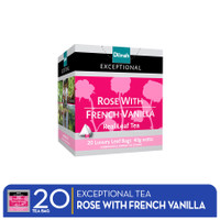 Dilmah Exceptional Rose With French Vanilla