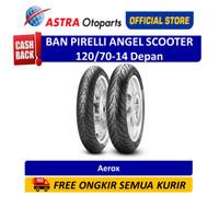 Pirelli Angel Scooter 120/70-14M/CTL 55P AngScF (Depan) (2770300)