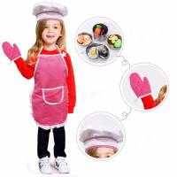 Celemek Anak Apron&Topi Chef