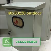 Panel Box Outdoor Kotak KWH meter Outdoor PJU Solar Panel Box