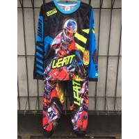Baju Motorcross lengan panjang anak