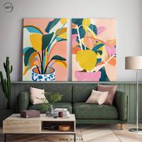 Lukisan Wall Art Set Why Is It So Pretty - Canvas Print -Spanram 60x90