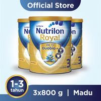 Paket 3 - Nutrilon Royal 3 Susu Pertumbuhan 1-3 Thn Madu 800gr
