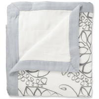 Aden + Anais - Silky Soft Dream Blanket Moonlight Leafy