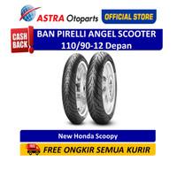 Pirelli Angel Scooter 110/90-12TL 64P AngScF Ban Depan (2769600)