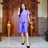 Setelan Pendek Bali - Piyama Bali - Baju Tidur Rayon - Babydoll