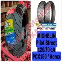 120/70-14 Michelin Pilot Street - Ban Motor Ring 14 Tubeless